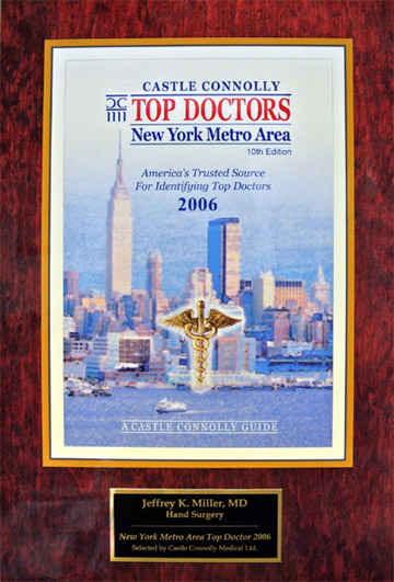 Award for being a great doctor in NJ