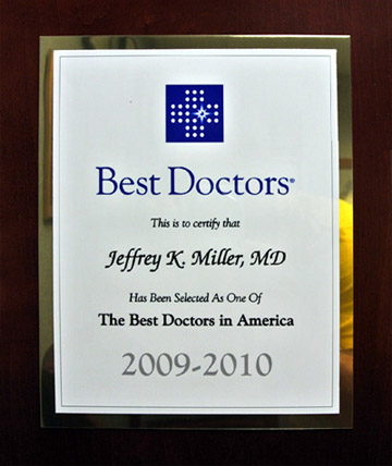 New Jersey Hand Doctor Award